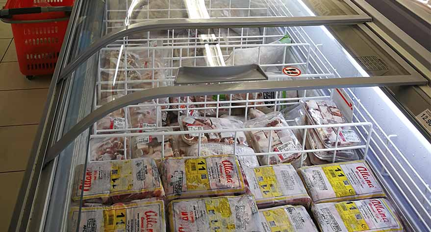 equipo de frió supermercado