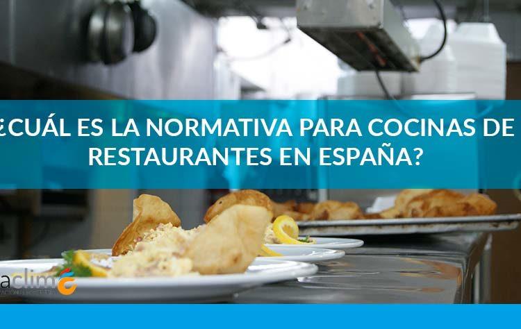 normativa cocinas restaurantes Fibraclim