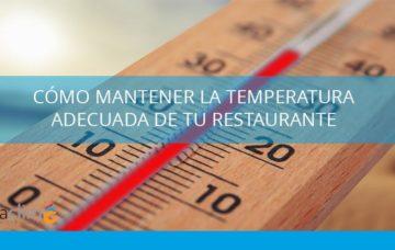 temperatura en la cocina de un restaurante