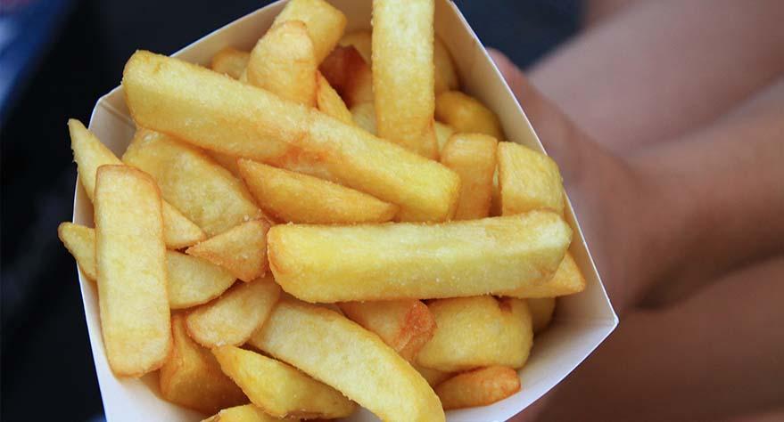 tiempo de coccion de patatas en freidora