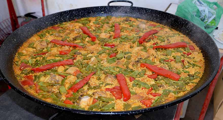 tiempo de cocción del arroz de la paella valenciana