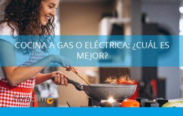 cocina a gas o electrica